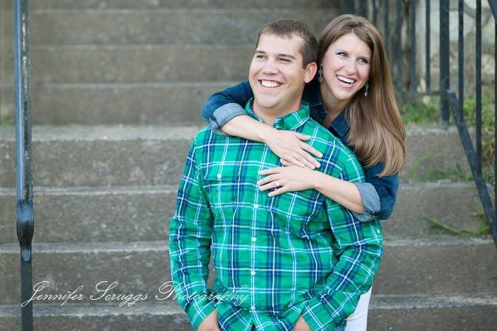 Katie East and Chad Gladfelter